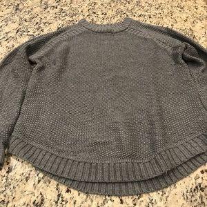 Lululemon gray knit sweater size 8